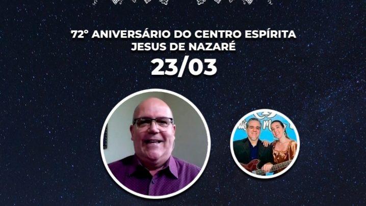 """Aniversário do Centro Espírita """"Jesus de Nazaré"""""""