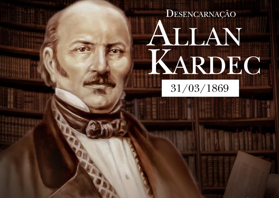 Desencarnação de Allan Kardec  | 31/03/1869