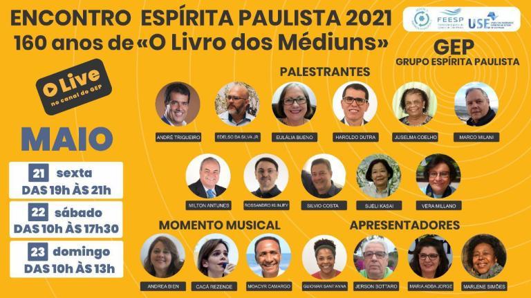 LIVE do Grupo Espírita Paulista |
