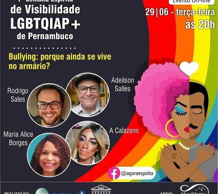 1° Semana Espírita de Visibilidade LGBTQIAP+ | Pernambuco