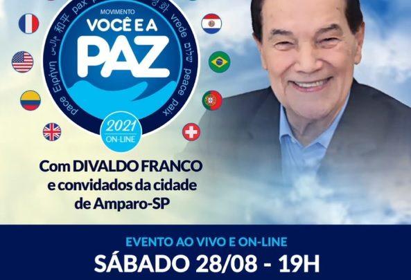 MOVIMENTO VOCÊ E A PAZ 2021 | Divaldo Pereira Franco