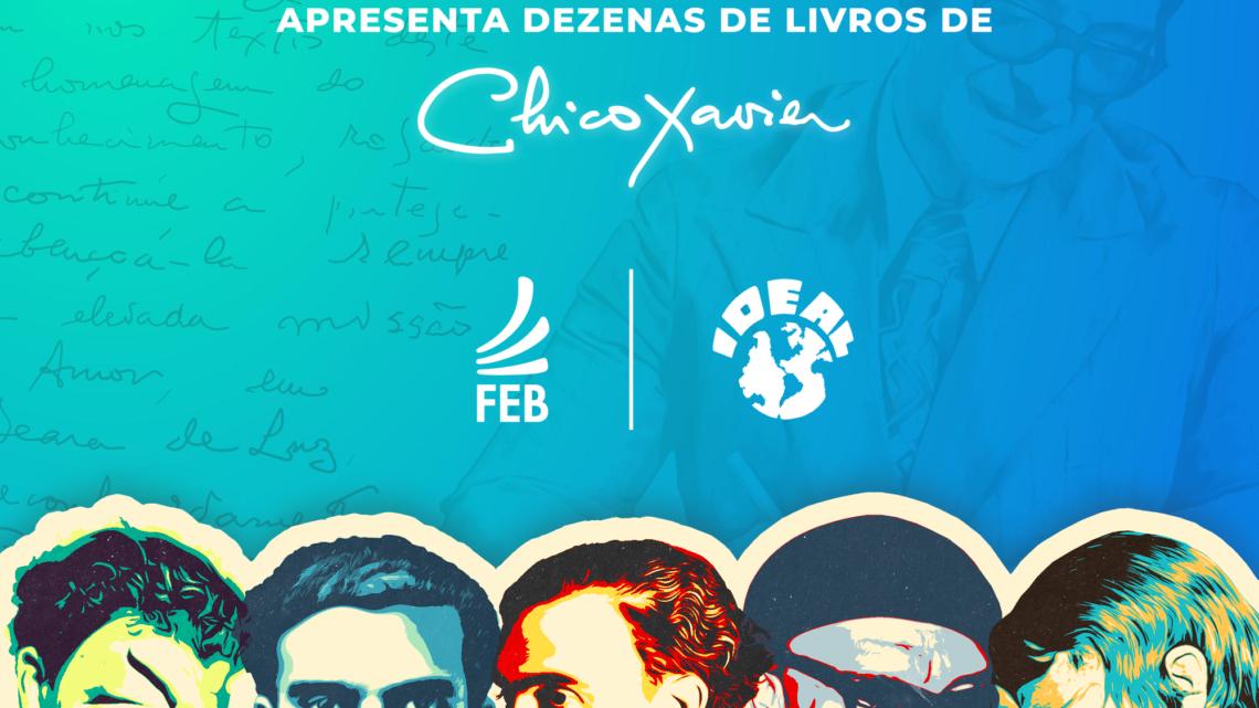 Em parceria inédita, FEB e Ideal trazem dezenas de livros de Chico Xavier